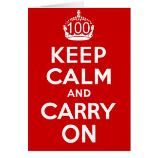 Tarjeta 100o Cumpleaños