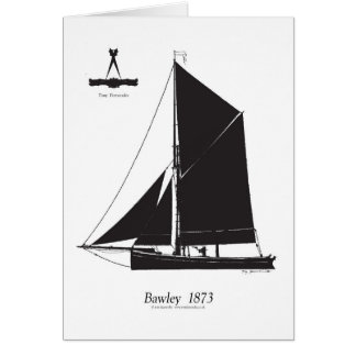 Tarjeta 1873 Bawley - fernandes tony