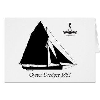 Tarjeta 1882 draga de la ostra - fernandes tony