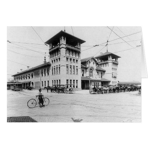Tarjeta 1910 de felicitación del SC de Charleston