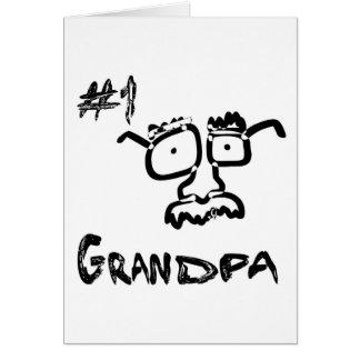 Tarjeta # 1 abuelo/tarjeta