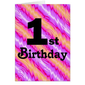 Tarjeta 1r Cumpleaños