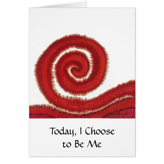 Tarjeta 1st-Root Chakra #1: Hoy, elijo ser yo