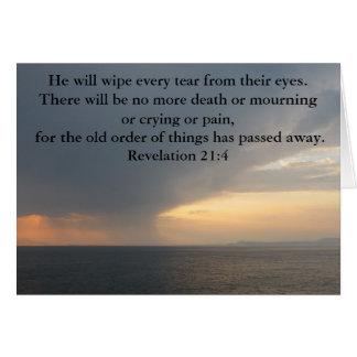 Tarjeta 21:4 de la revelación