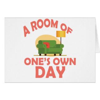 Tarjeta 25 de enero - un cuarto de lo suyo día