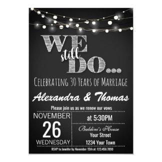 Tarjeta 25to Aniversario de boda, todavía hacemos