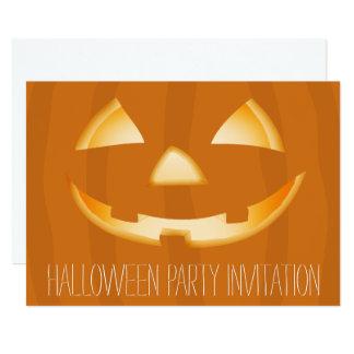 Tarjeta 2 de la invitación del fiesta de Halloween