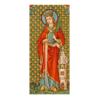 Tarjeta #2 del estante del St. Barbara (JP 01)