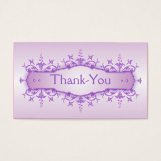 Tarjeta 3 del de agradecimiento del boda