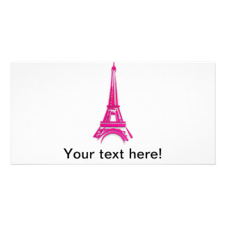 Tarjeta 3d torre Eiffel, clipart de Francia