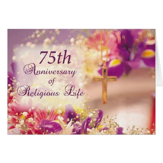 Tarjeta 4062_75o Aniversario de la vida religiosa