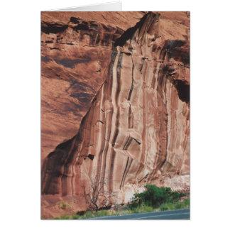 Tarjeta 41. Rayas verticales, Rt. 95, Utah meridional