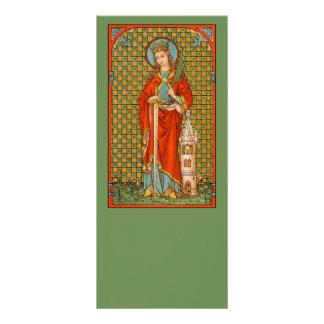Tarjeta #4 del estante del St. Barbara (JP 01)