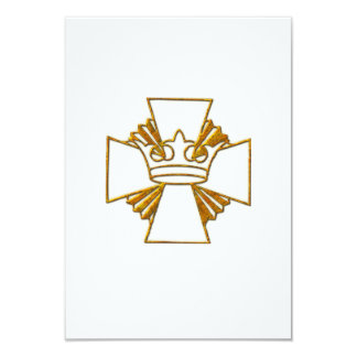 Tarjeta 50.o Aniversario de oro de la ordenación del