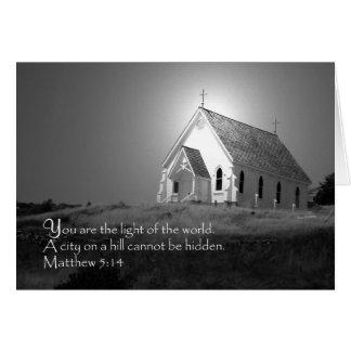 Tarjeta 5:14 de Matthew