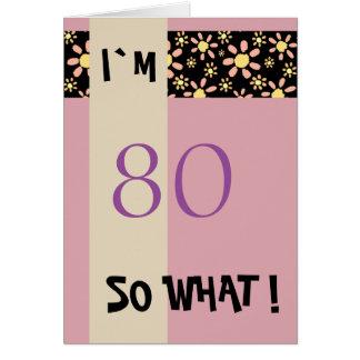 Tarjeta 60.o Cumpleaños para su de motivación divertido