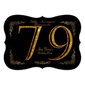 Tarjeta 79.o, Gatsby de la fiesta de cumpleaños 79.a,