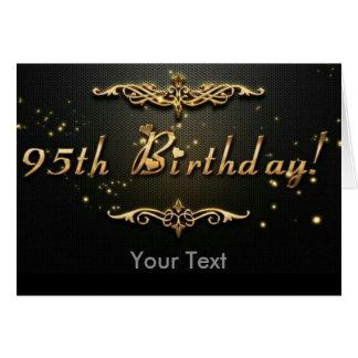 Tarjeta 95.o ¡Cumpleaños!