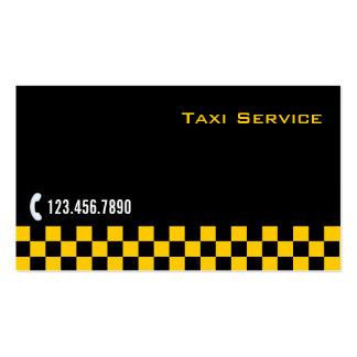 Tarjeta a cuadros de la empresa de servicios del t tarjeta de visita