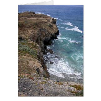 Tarjeta A lo largo de la costa