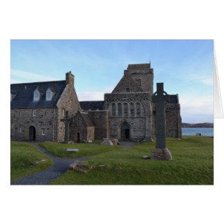 Tarjeta Abadía de Iona
