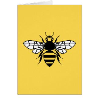 Tarjeta Abeja de Manchester