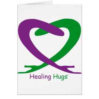 Tarjeta Abrazos de la cura
