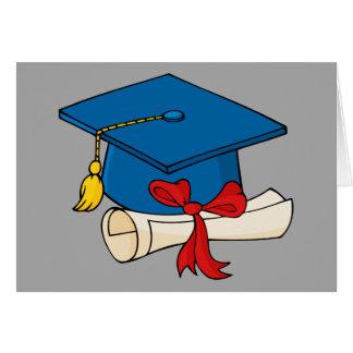 Tarjeta Aceptación de la universidad de la enhorabuena