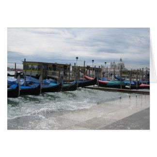 Tarjeta Acqua Alta en Venecia