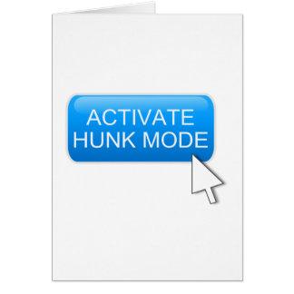 Tarjeta Active el modo del trozo
