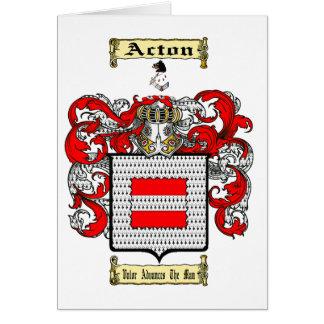 Tarjeta Acton