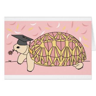 Tarjeta adaptable 1 de la graduación de la tortuga