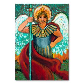 Tarjeta adaptable del rezo del arcángel de San