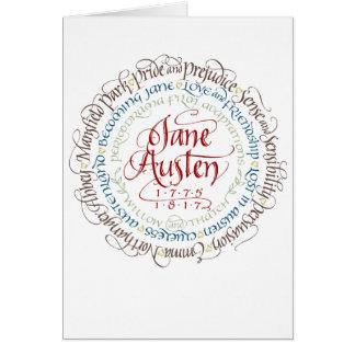 Tarjeta Adaptaciones del drama de período de Jane Austen