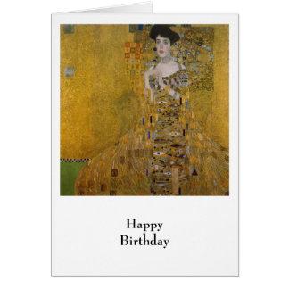 Tarjeta Adela Bloch Bauer de Gustavo Klimt