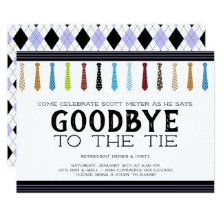 Tarjeta Adiós al retiro del lazo