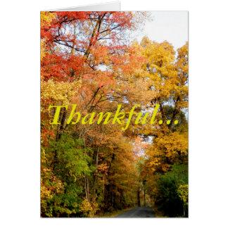 Tarjeta Agradecido