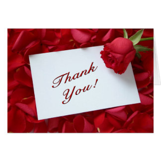 Tarjeta Agradezca su nota