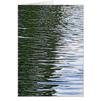 Tarjeta Agua de ondulación
