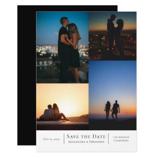 Tarjeta Ahorre casarse de las fotos de la fecha 4