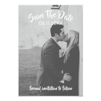 Tarjeta Ahorre la fecha - boda