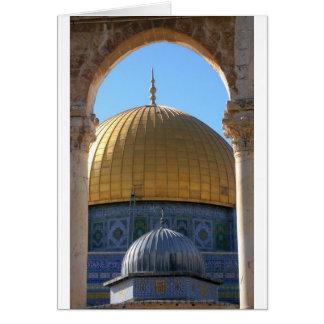 Tarjeta Al-Aqsa de Masjid