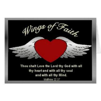 Tarjeta Ala de la fe