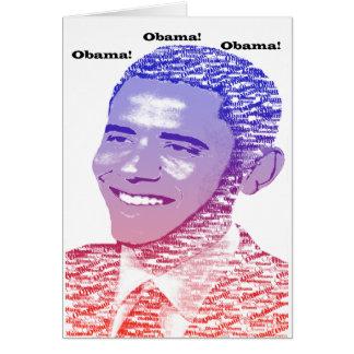 Tarjeta Alcohol de Obama