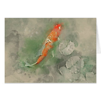 Tarjeta Algo a pescado