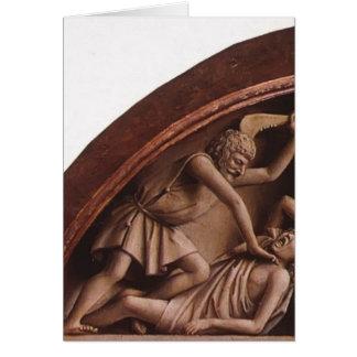 Tarjeta Altar de enero van Eyck- The Gante (detalle)