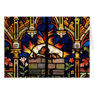 Tarjeta Altar del cordero Notecards