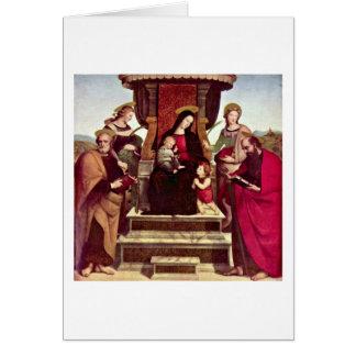 Tarjeta Altar principal de Colonna de Raffael