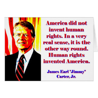 Tarjeta América no inventó los derechos humanos - Jimmy
