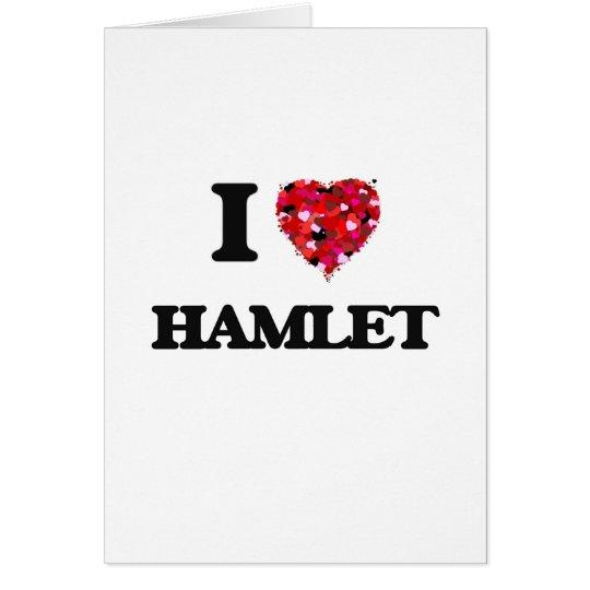 Tarjeta Amo Hamlet